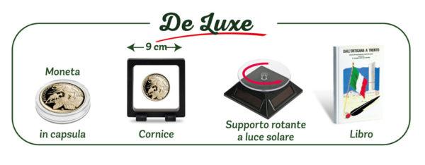 Moneta Alpini Cofanetto De Luxe