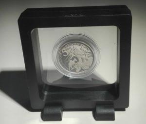 Moneta Alpini cornice standard